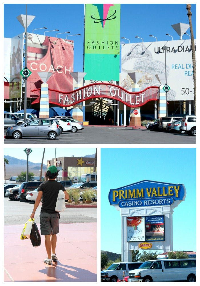 Located in Primm at Las Vegas Blvd. S., the Fashion Outlets of Las Vegas is an indoor shopping mall with over one hundred retail outlets.